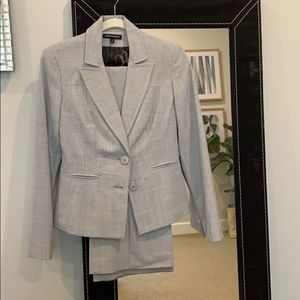 Gray suit separates